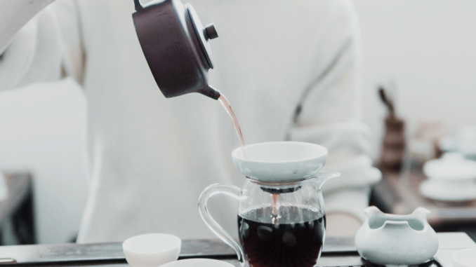 boire du thé oolong